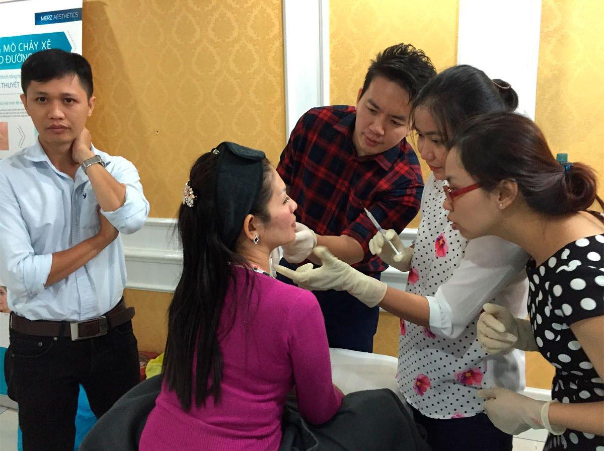 Radiesse injection procedure 1