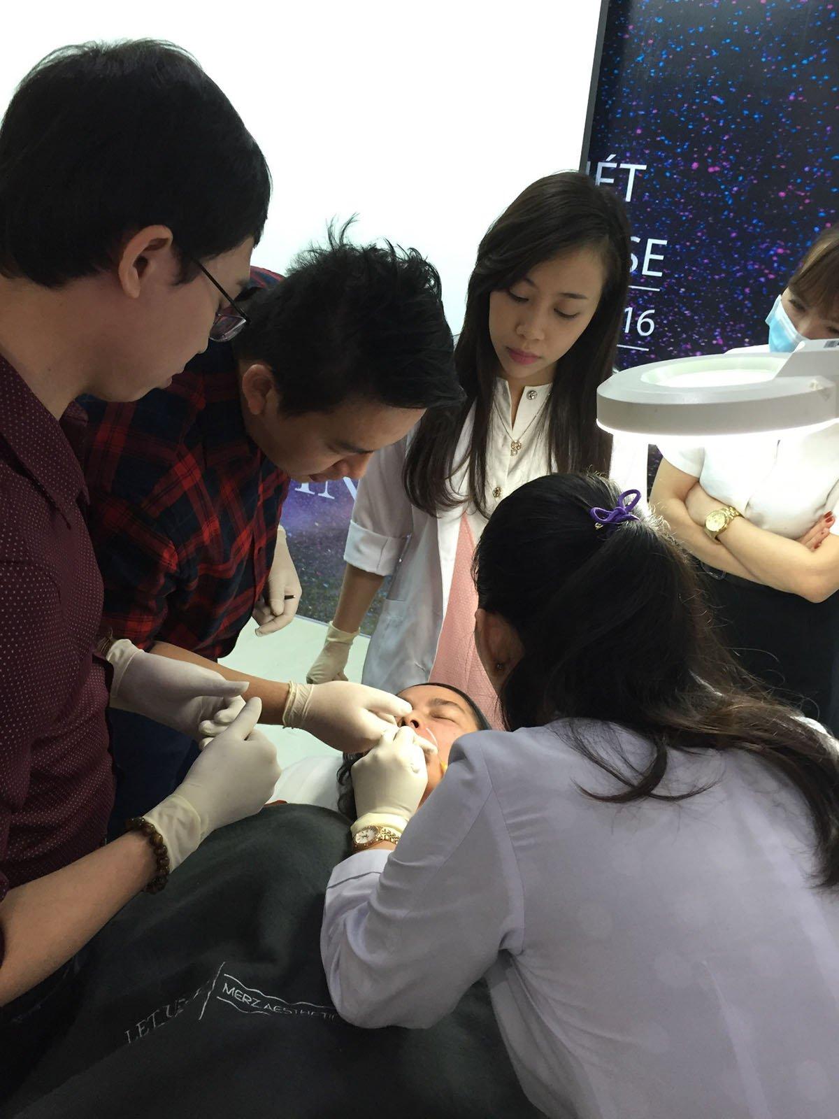 Radiesse injection procedure 2