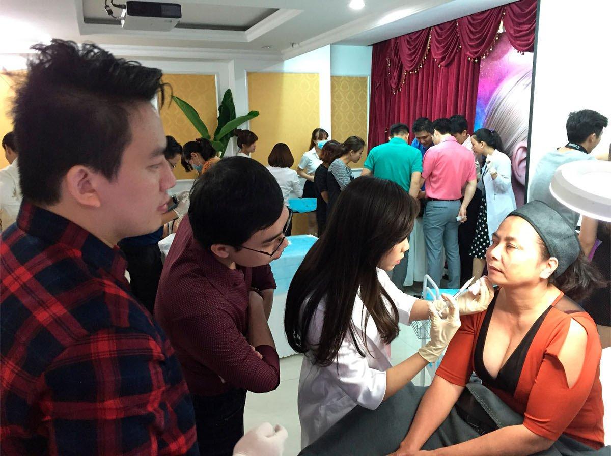 Radiesse injection procedure 3