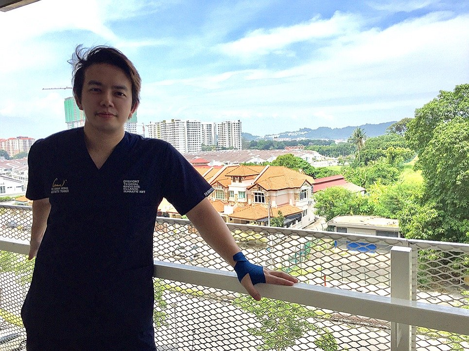 A picture of Dr Isaac Wong