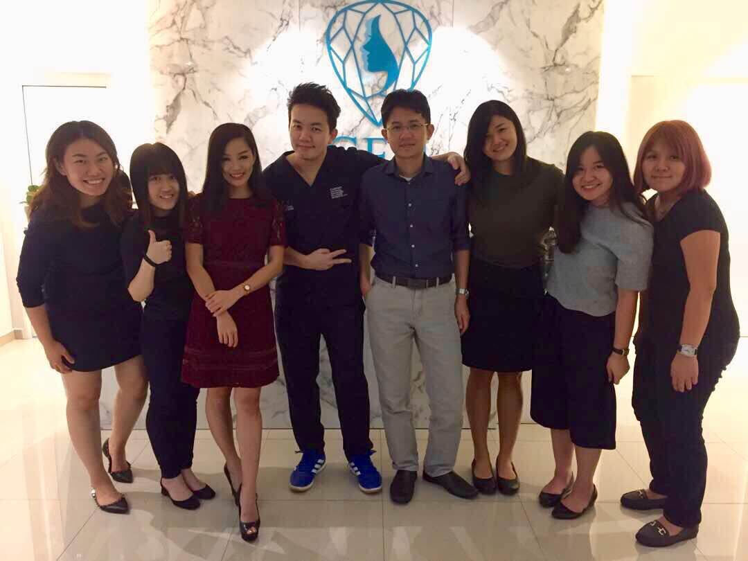 Doctors with the Parvus team