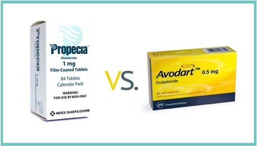 Product picture of Propecia and Avodart